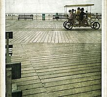 "Ocean City, NJ  Boardwalk, Labor Day W.E.  2013 There they go ... by Edmond J. [""Skip""] O'Neill"