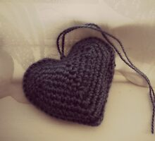 Crochet Heart by EarthandSky