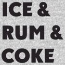 Ice, Rum, Coke by Alsvisions