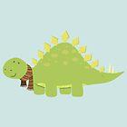 ScarfTegosaurus by AnishaCreations