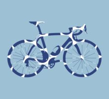 Bike Blue Polka Dot (Big) by sher00