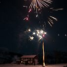New Year in Valldalen by Algot Kristoffer Peterson