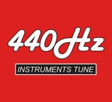 440 Hz (INS) decoration Clothing & Stickers by goodmusic