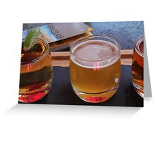Local Beers Greeting Card