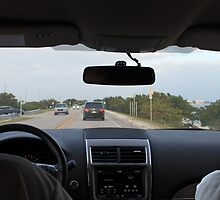 Driving Overseas Highway by florencewelc