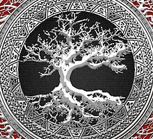 Treasure Trove: Celtic Tree of Life [Silver] by Captain7