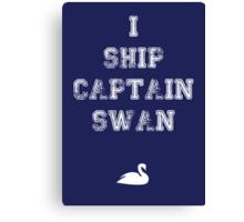 I Ship Captain Swan Canvas Print