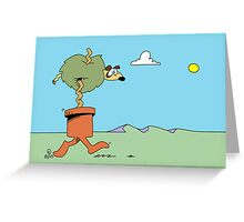 Just strolling along... Greeting Card