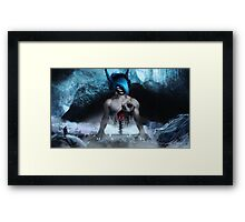 Heart to the beat Framed Print