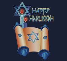 Happy Hanukkah-Torah by Lotacats