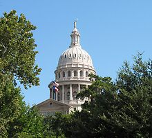 Texas Capitol Dome by floresarts