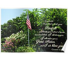 Great Nation Bless You Poster