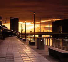 Sth Bank Sunset by Mandysphotos