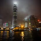Rising towers of Hong Kong by vishwadeep  anshu