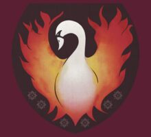 SwanFire Crest by Daisy May Edwards