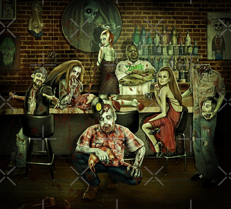 """The Zombie Room"" By Cristie Guevara"