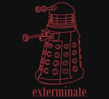 Dalek Exterminate by monkeybrain