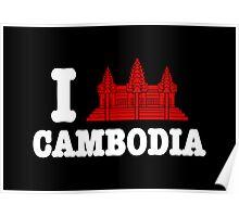 I Angkor (Love) Cambodia Poster