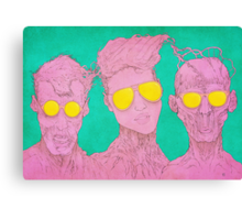 Glassess Canvas Print