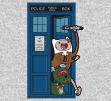 Adventure Time Lord Generation 10 - TARDIS Kids Clothes