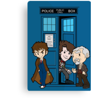 The Doctor's 50th Canvas Print