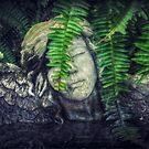 Garden Angel by Lea  Weikert