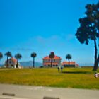 Lunch at Crissy Field by Rick Gustafson