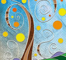 Spiralscape by MSRowe Art and Design