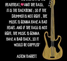The Bass Is The Spine by TortugaDesigns