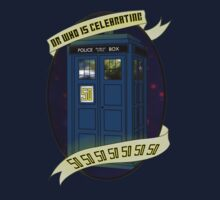 Dr Who - 50 Years Birthday Tardis by appfoto
