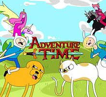 Adventure Time Ooo V.s Aaa by Ivyv