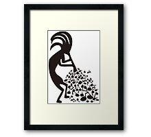 Petroglyph Framed Print