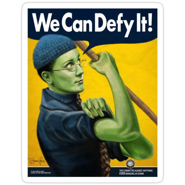 We Can Defy It! by James Hance