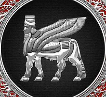 Winged Bull Lamassu [Silver] by Captain7