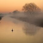 Dawn on the South Drain by Nick Pound