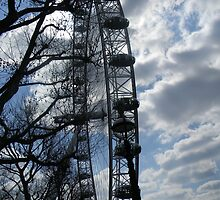 London Eye- London, UK by JRHRphotography