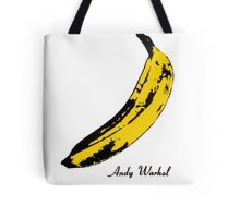 Andy Warhol Banana, RIP Lou Reed Tote Bag