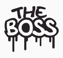 The Boss Comic Style Graffiti by Style-O-Mat