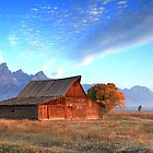The Old Barn by Ann  Van Breemen