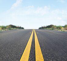 Empty Road by visualspectrum