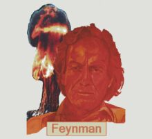 Richard Feynman with name by precisionts