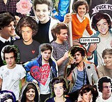Larry Stylinson Collage by tynnosaur