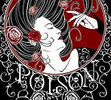 Poison - Black Rose Full Illustration by Samantha Johnson