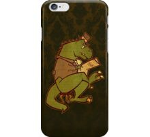Gentleman T-Rex iPhone Case/Skin