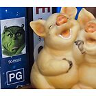 Laughting Pigs By Luke Cowan by Access Arts Camera Wonderers