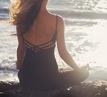 Seaside Meditation by visualspectrum