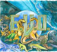 EVO Search for Eden, SNES fan art by Katie Clark