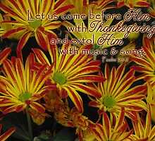 Thanksgiving Mums by paws4critters