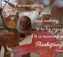 Thanksgiving for God's Creation by paws4critters