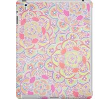Candyfloss Colored Doodle Pattern iPad Case/Skin